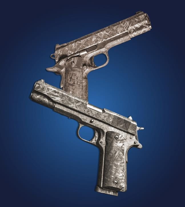 Rare Meteorite 1911Pistols To Be Auctioned Off On July 20 By Heritage Auctions