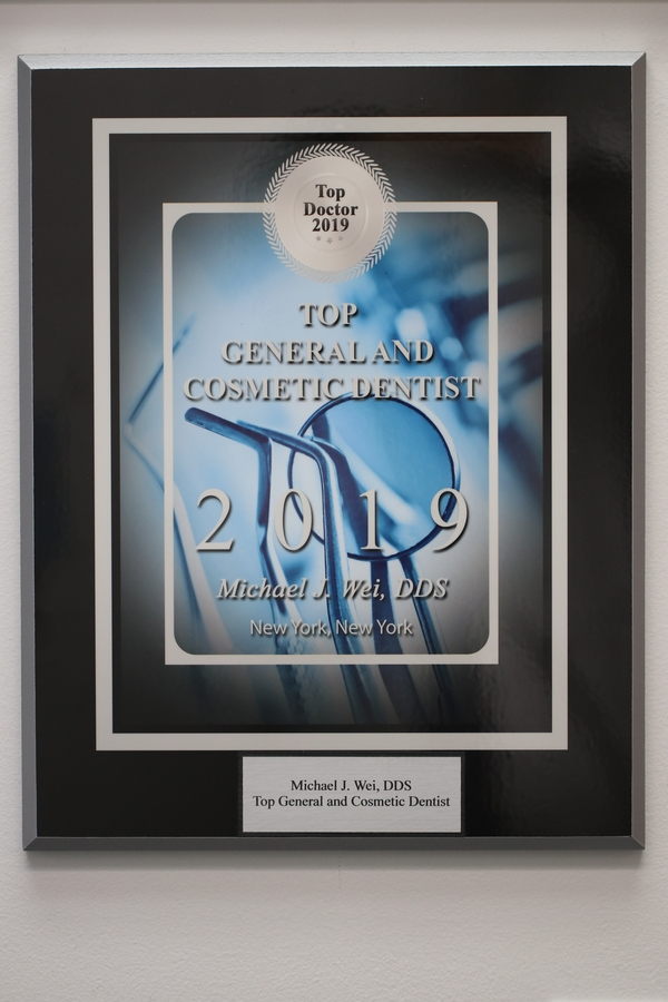 Michael J. Wei, DDS Named New York Top Doctor in General and Cosmetic Dentistry for 2019
