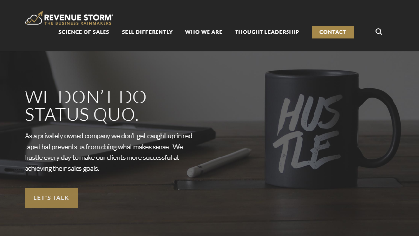 Revenue Storm Corporation Announces Launch of Newly Designed Website