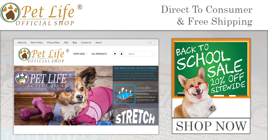 Pet Life Launches Direct to Consumer Online Sales Channel