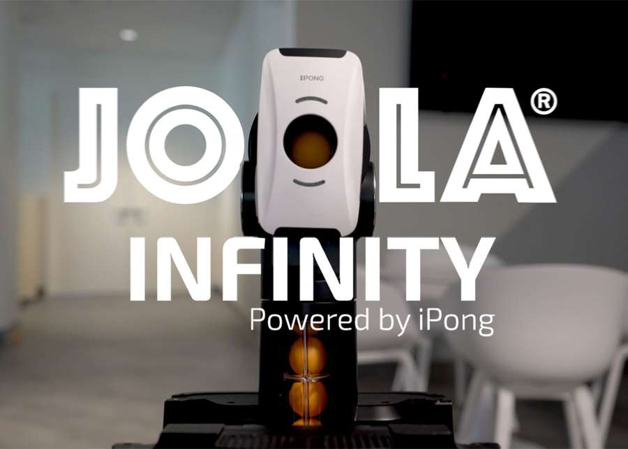 JOOLA Infinity Smart Table Tennis Robot Just Launched on Kickstarter