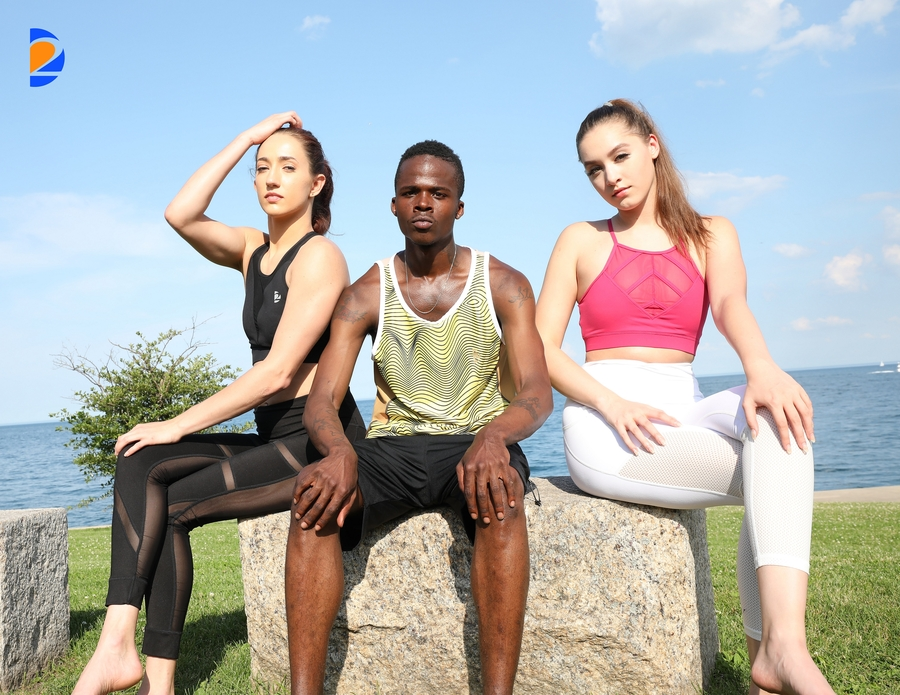 Chicago Area Fashion Show At Northbrook Mall Gearing Up for Revolutionizing Sportswear Fashion on July 28th