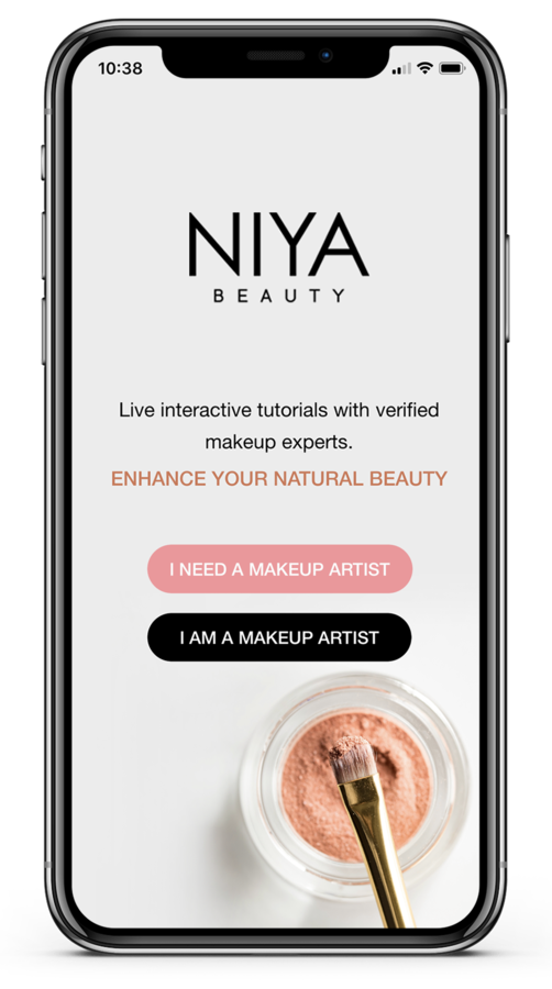 NIYA Beauty App Launches, Connects Users with Professional Makeup Artists for Live Video Consultations