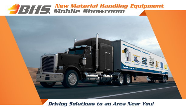 On Tour: The BHS Material Handling Equipment Mobile Showroom