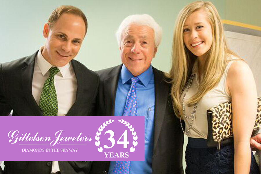 Gittelson Jewelers Celebrates Their 34th Anniversary In The Minneapolis Downtown Skyway With A Continued Focus on Generational Relationships