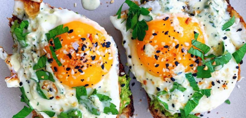 Chino Valley Ranchers Eggs Featured in Kale Me Maybe Instagram Post by Carina Wolff
