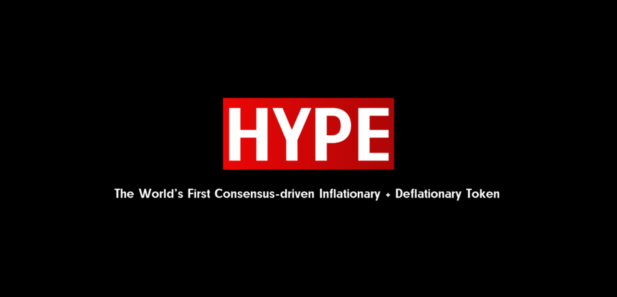 HYPE Launches the World's First Social Token + Economics (Tokenomics) Experiment