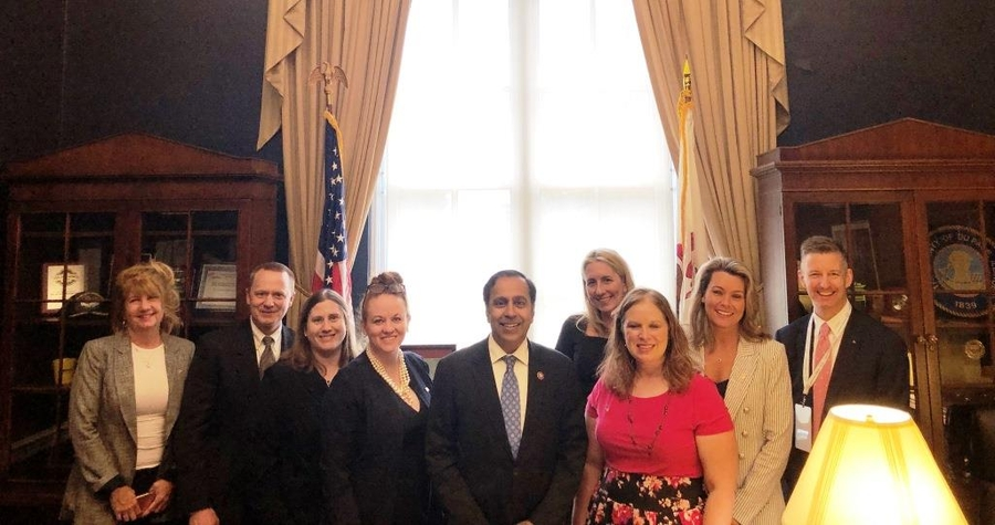 Shorr Packaging Visits Capitol Hill to promote ESOPs (Employee Stock Ownership Plans)