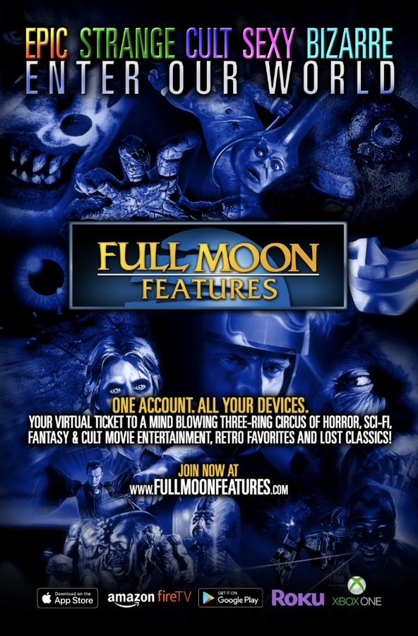 Full Moon Features Launches New Movie App