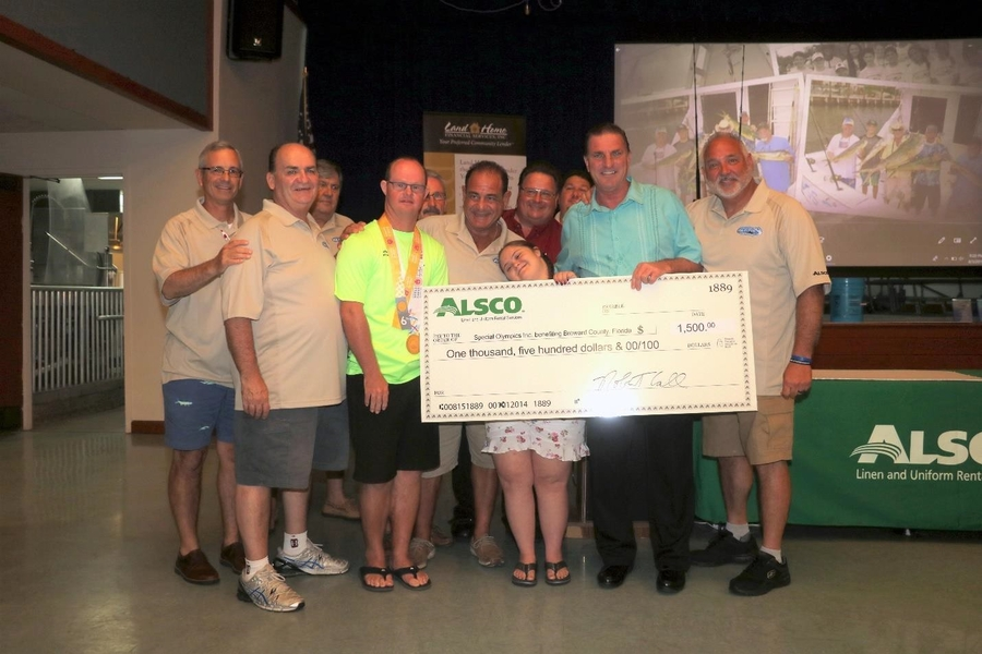 Alsco Pompano Beach Branch Supports Event Benefiting Special Olympics