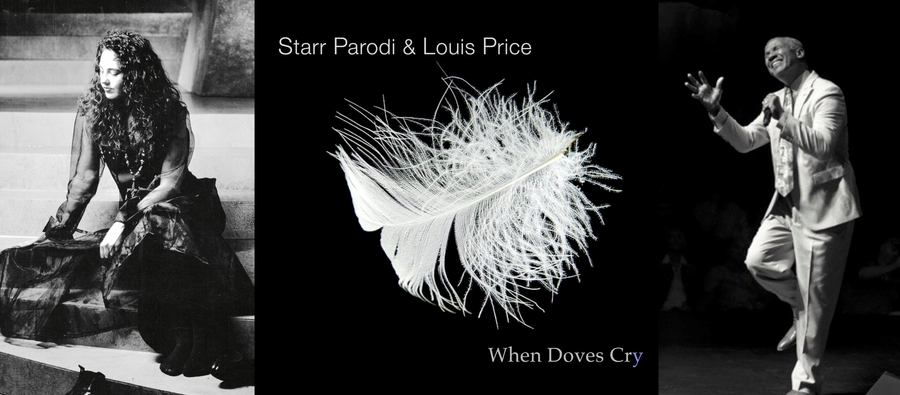"Prince Masterpiece ""When Doves Cry"" Reimagined for the Song's 35th Anniversary by Former Temptations Lead Singer, Louis Price and Gold Record Recipient, Pianist, and Producer, Starr Parodi"