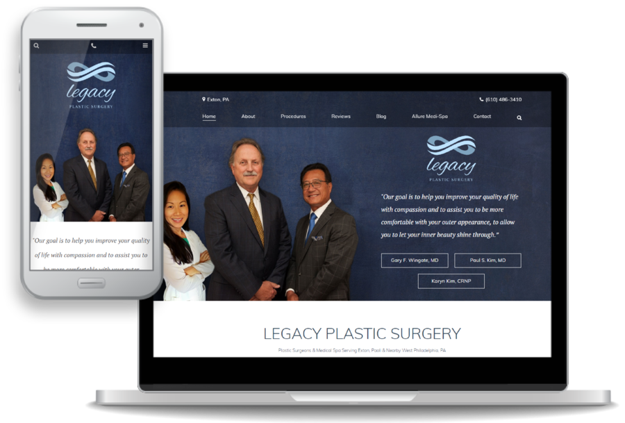 New Website for Legacy Plastic Surgery Goes Live