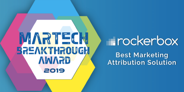 "Rockerbox Named ""Best Marketing Attribution Solution"" in 2019 MarTech Breakthrough Awards"
