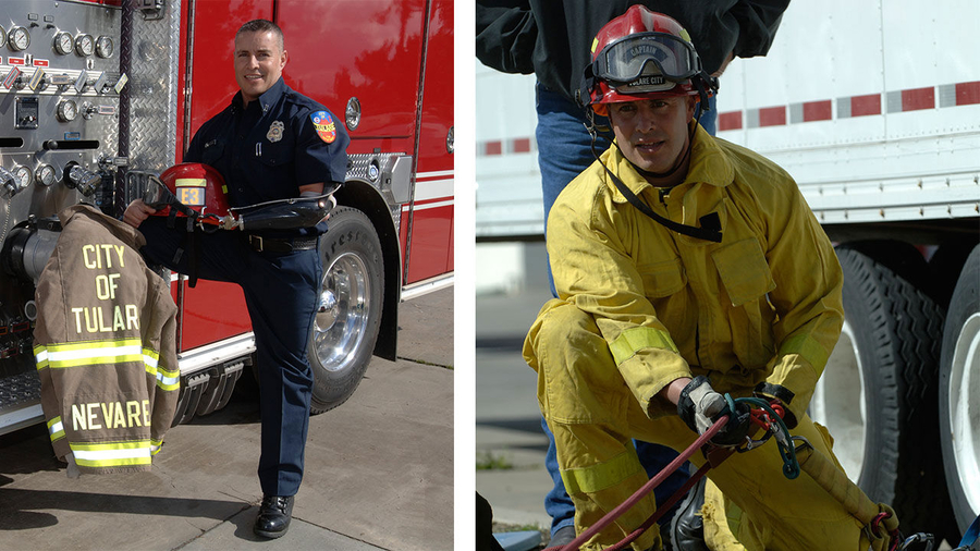 Luis Nevarez: The Fire Chief Who Will Never Give Up