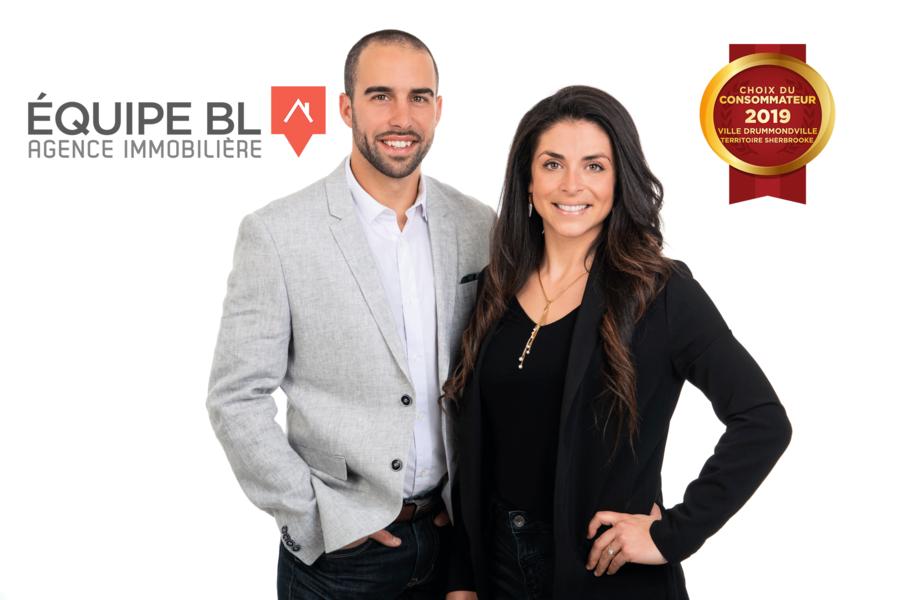 Le Choix du Consommateur est fier d'annoncer Équipe BL Agence Immobilière en tant que lauréat dans la catégorie Courtier Immobilier résidentiel pour la région de Sherbrooke, ville Drummond