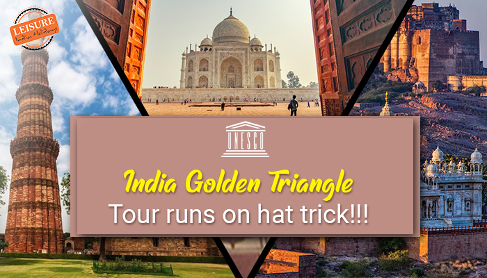 India Golden Triangle Runs on Hat Trick!
