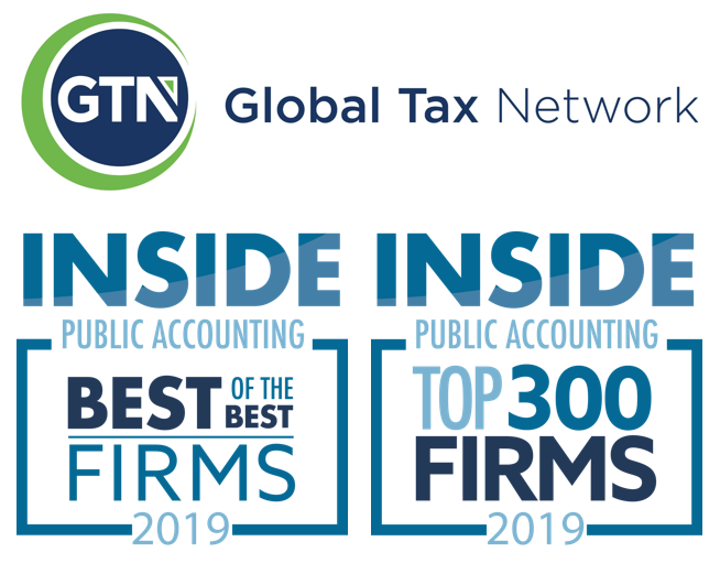 INSIDE Public Accounting Named Global Tax Network a Best of the Best and Top 300 Firm for 2019