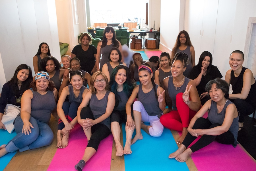 """Girls Cruise"" Star Tiffany Panhilason Hosts Yoga Session For Human Trafficking Survivors"