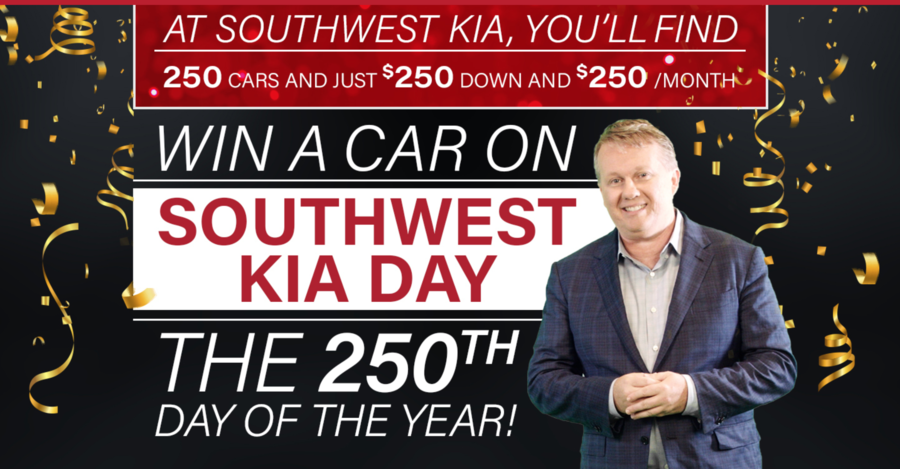 Southwest Kia to Celebrate 250th Day of the Year with New Holiday: Southwest Kia Day
