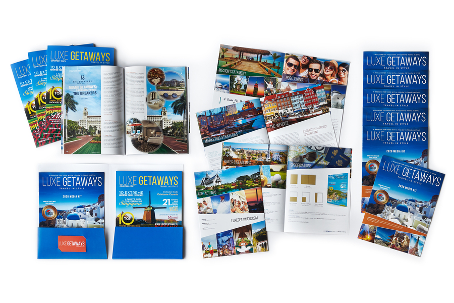 The 2020 Media Kit is Now Available for LuxeGetaways Magazine
