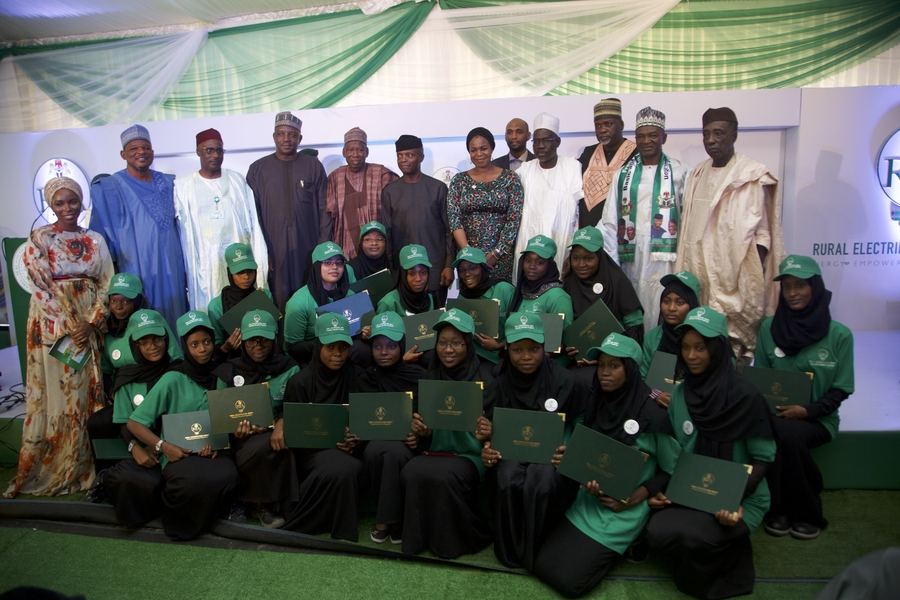 The Federal Government of Nigeria Commissioned the Largest Off Grid Solar Hybrid Power Plant in Africa under the Energizing Education Programme