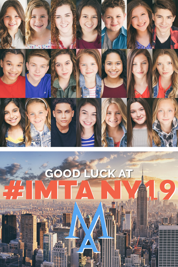 Model Act Studios Schaumburg & Lemont Illinois Talent go to New York City for IMTA