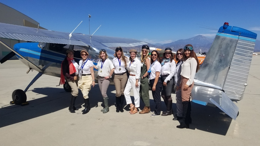 Luxivair SBD Celebrates Pioneering Women of Aviation