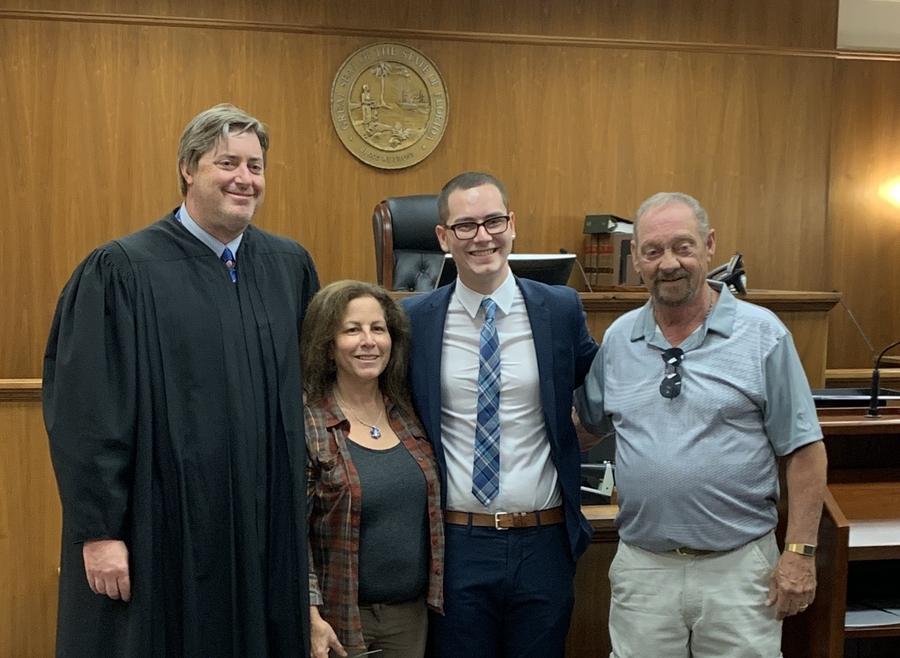 New Daytona Beach Criminal Defense Lawyer, Harry Rutherford, Passes Florida Bar Exam