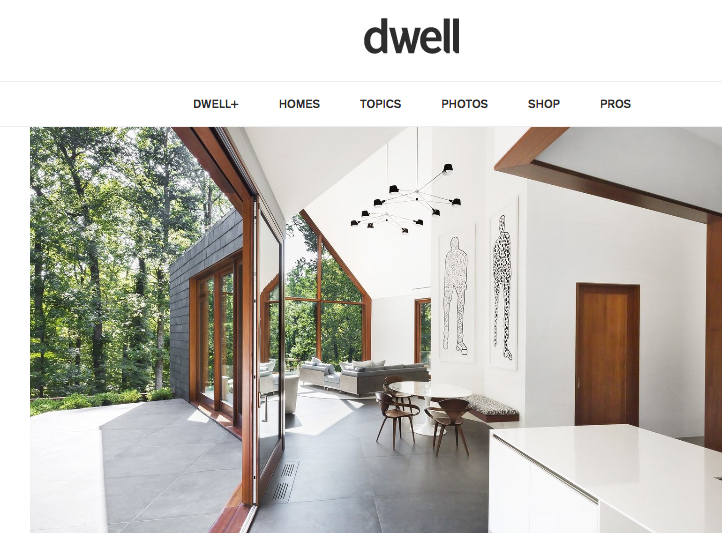 Christopher Flach's Paintings are Featured in Architectural Digest, Dwell and Sotheby's Interior Design Publication