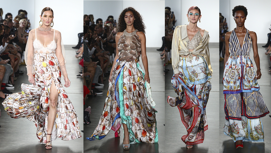 Kyle Richards and Shahida Clayton of Kyle and Shahida Ruled The Runway at New York Fashion Week!