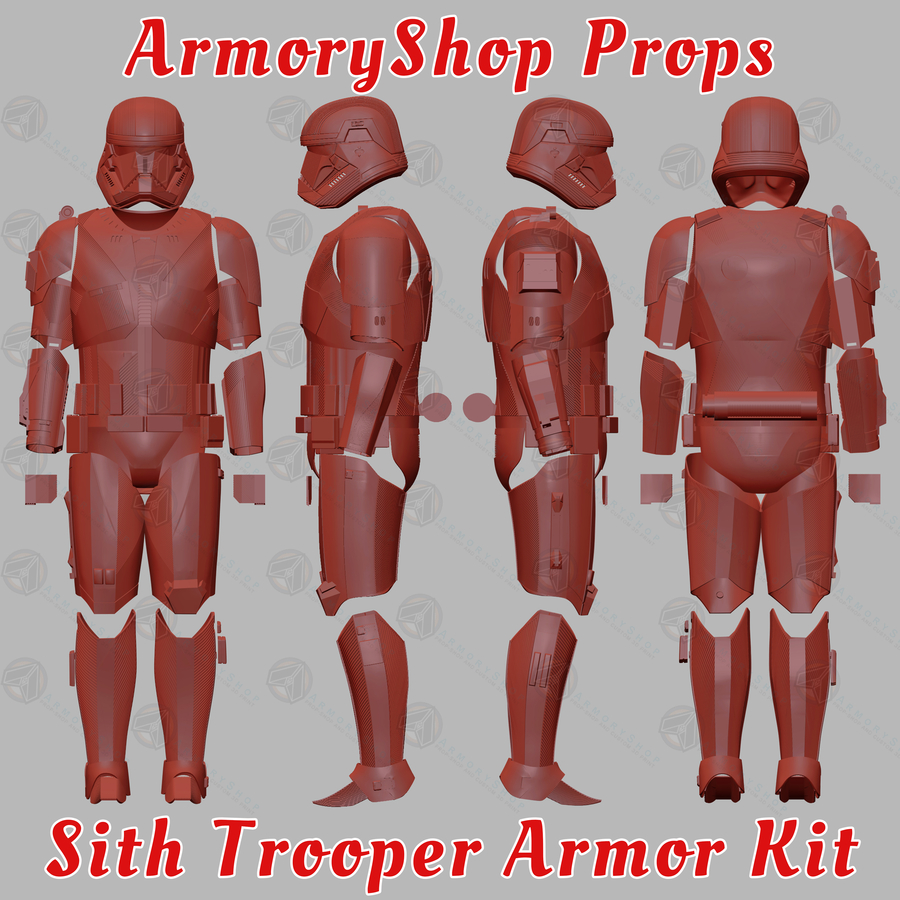 ArmoryShop Offering the Latest Sith Trooper Armor from The Rise of Skywalker