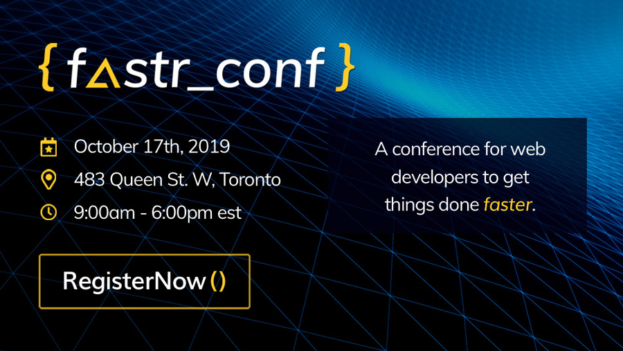 Agility CMS Announces 2019 fastr_conf: A Conference for Web Developers To Get Things Done Faster