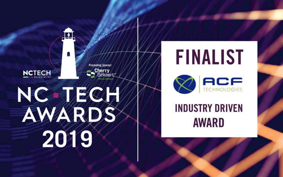ACF Technologies Selected as Finalist for 2019 NC Tech Awards