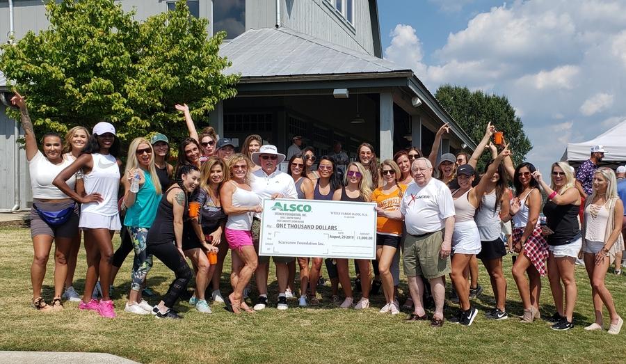Alsco Knoxville Donates to the Scarecrow Foundation