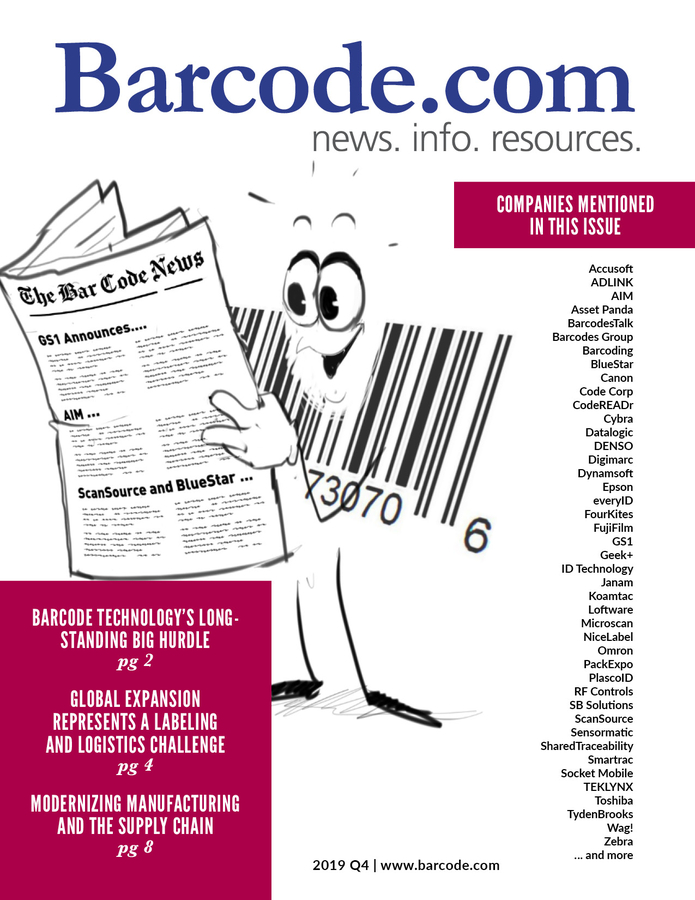 Barcode.com (The Bar Code News) has Released its Latest Quarterly Issue of The Bar Code Magazine