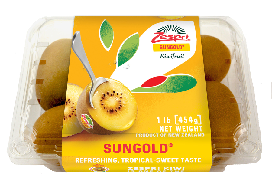 Zespri's Sungold® is the #1 Branded Kiwi in the Category