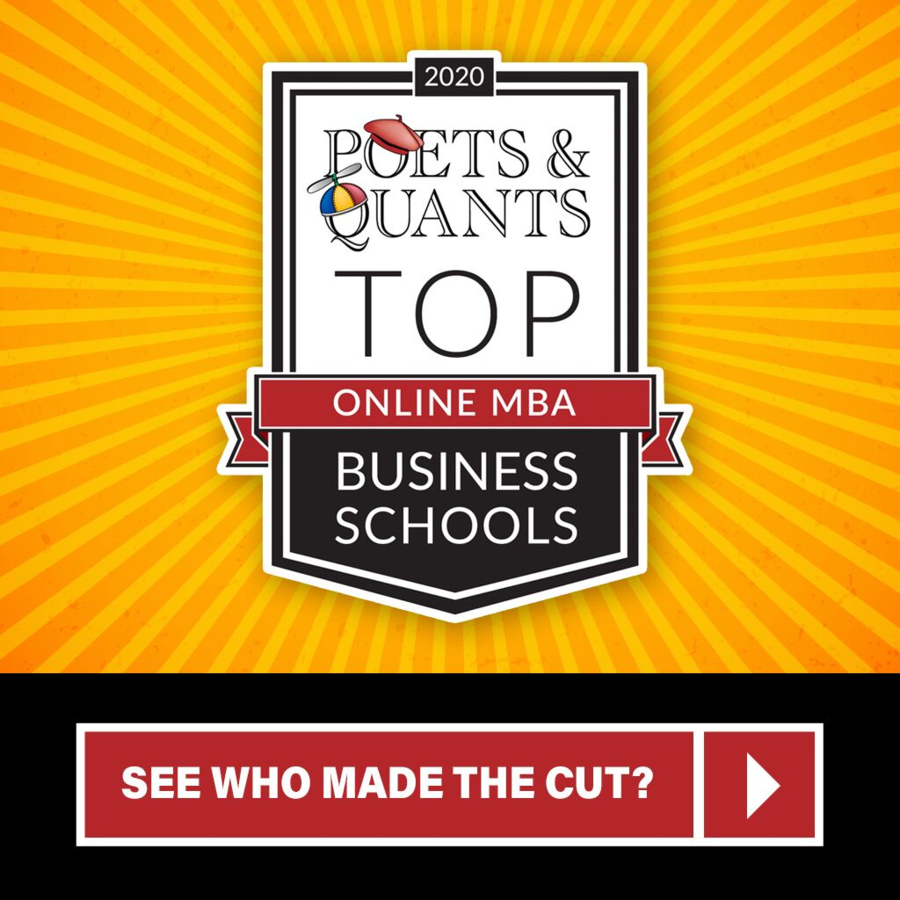 Poets&Quants TM Ranks the Best Online MBA Programs in 3rd Annual Ranking