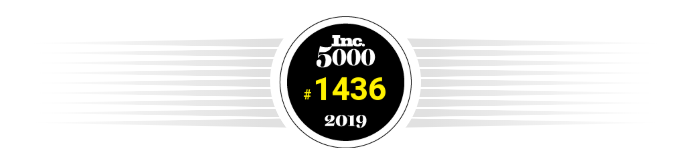 For the 5th Year in a Row, DIGITALSPEC Appears on the 2019 Inc. 5000 List of Fastest-Growing Private Companies in the U.S.