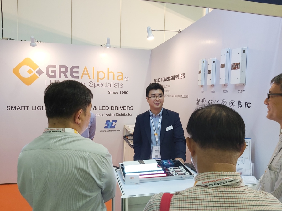GRE Alpha Debuts Next-Generation Dimmers and Drivers in LED+Light Asia 2019