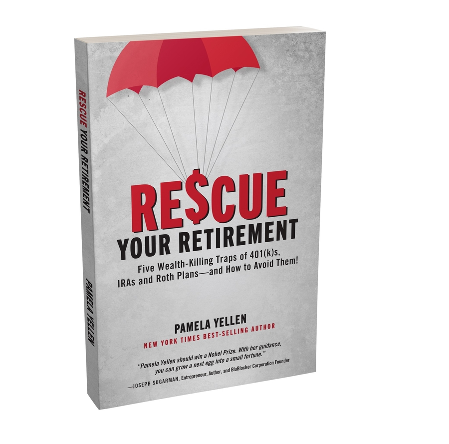 Best-selling Author Gives Away Free Copies of Her New Book 'Rescue Your Retirement'