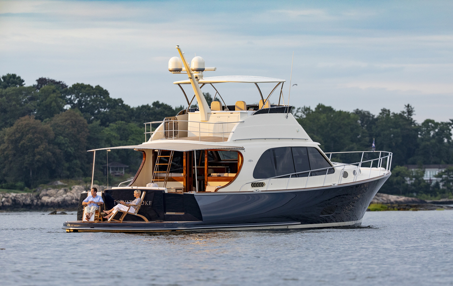 The Palm Beach 70 is set to make her World debut at the 2019 Ft. Lauderdale International Boat Show