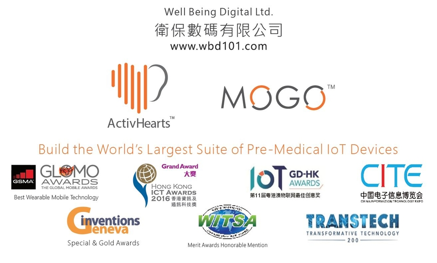 Well Being Digital Limited (WBD101) Listed as a Designated Local Research Institution (DLRI) in Hong Kong