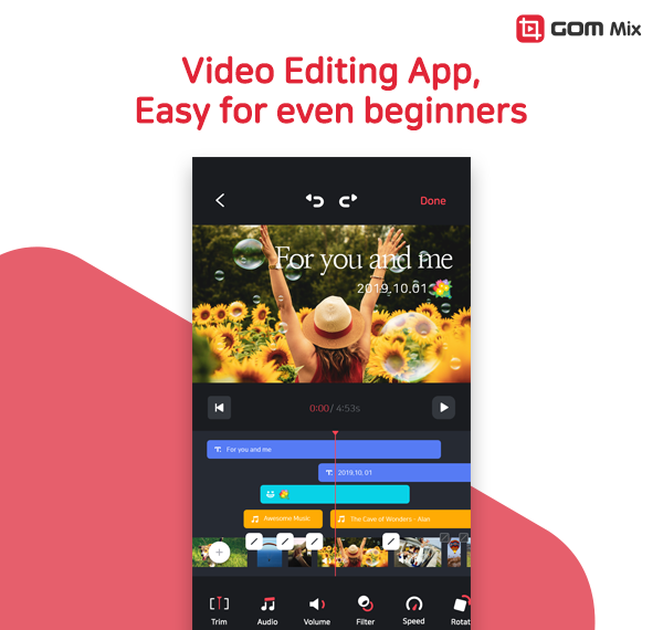 GOM Mix – Possible New Leader in the Mobile Video Editing Market?