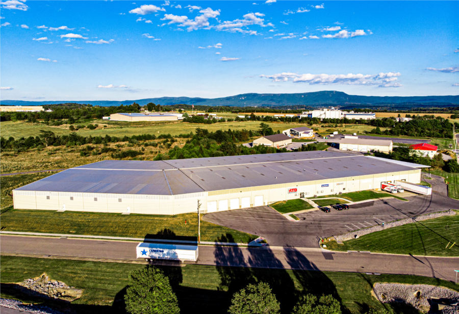American Tire Distributors (ATD) Distribution Center in Harrisonburg, VA for Sale at $7.2 Million