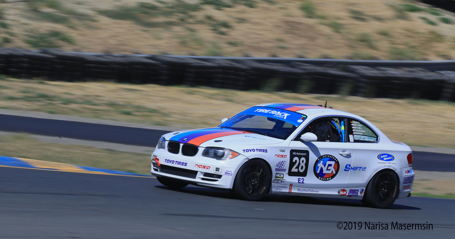 Shift Up Now and HQ Autosport Combine To Field A CoEd Team for 2019 25 Hours of Thunderhill