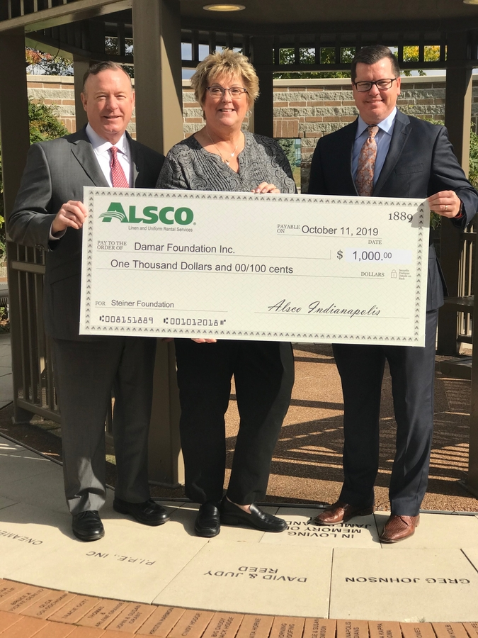 Alsco Indianapolis Renews Its Support to the Damar Foundation