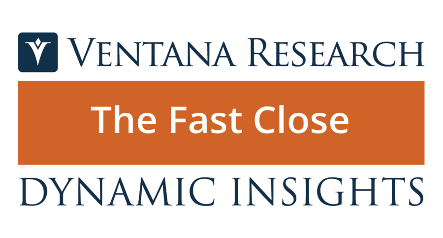 Ventana Research Launches Dynamic Insights on the Fast Financial Close