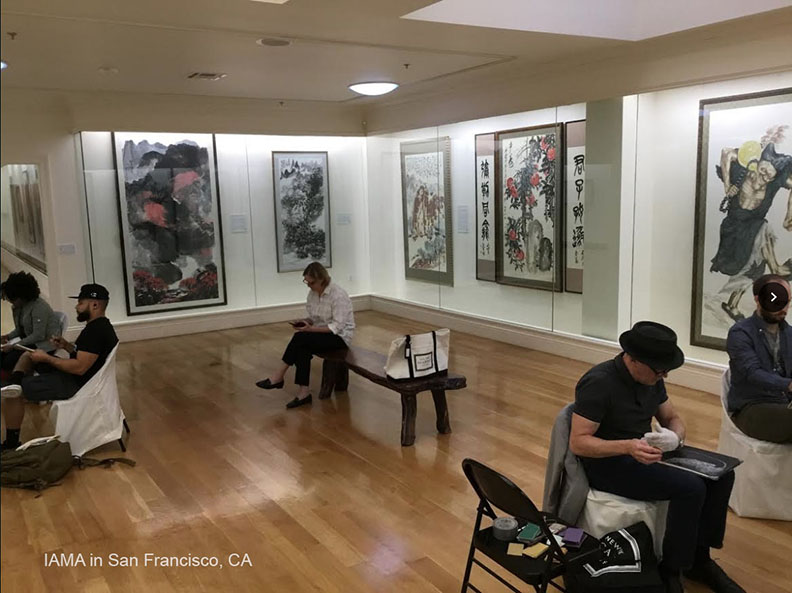 New York Academy of Art Conducts Master Class at the International Art Museum of America