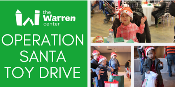The Warren Center Hosts Operation Santa Toy Drive on Amazon Smile