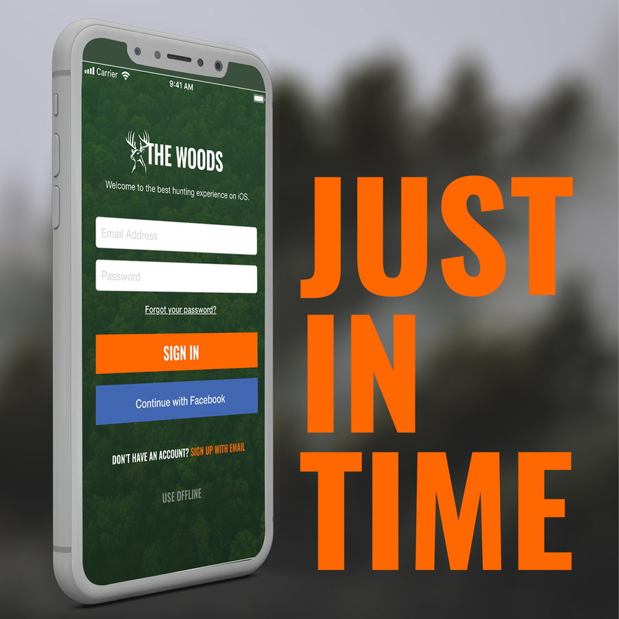 Introducing The Woods Hunting App